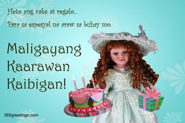 Maligayang Kaarawan Kaibigan From 365greetings Com