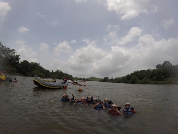 Rafting in Kolad River
