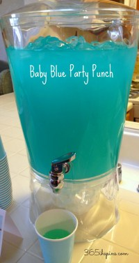 Baby Shower Food Ideas: Baby Shower Punch Ideas For A Boy