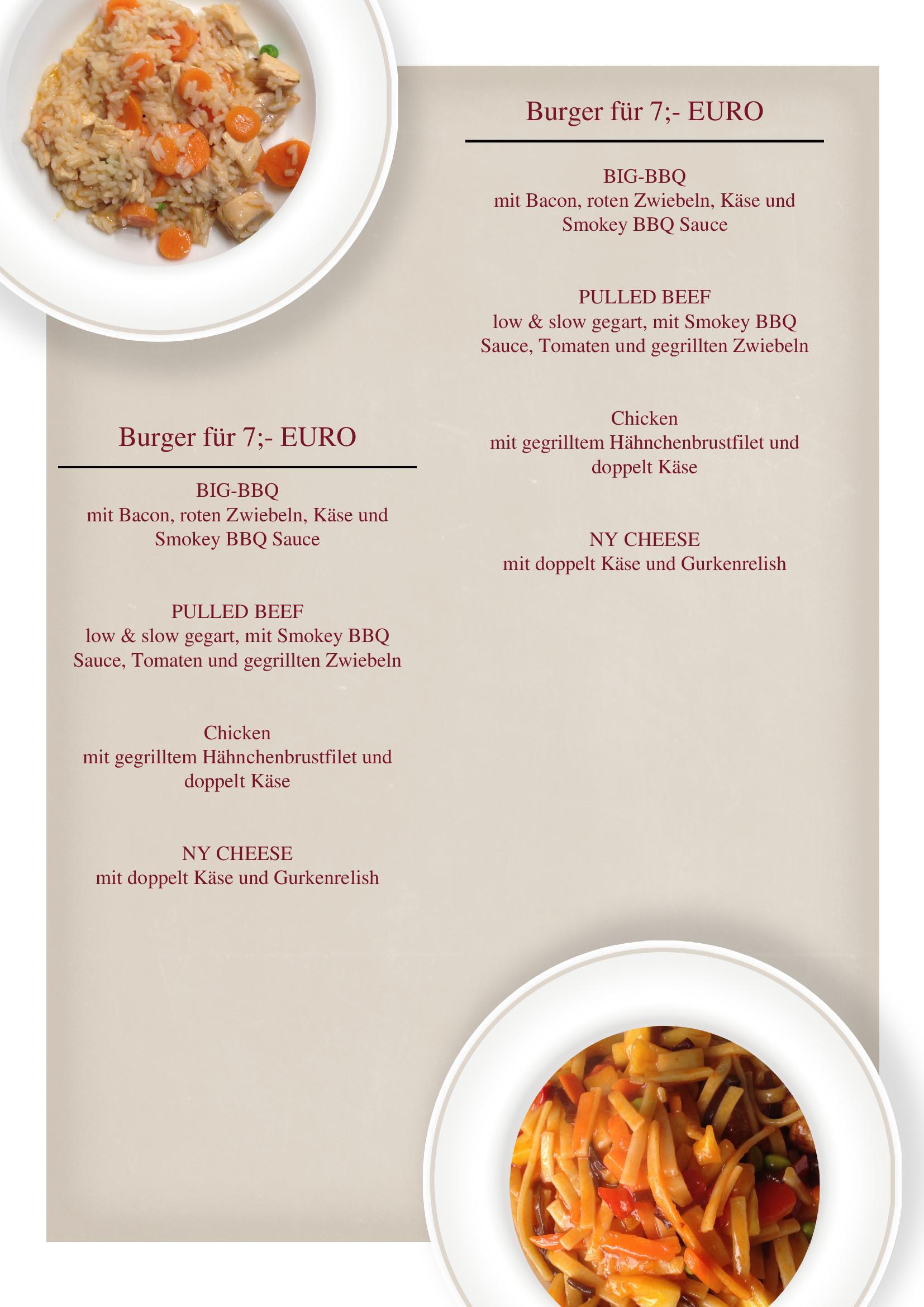 Speisekarten und Menkarten TagesmenVorlage von chris