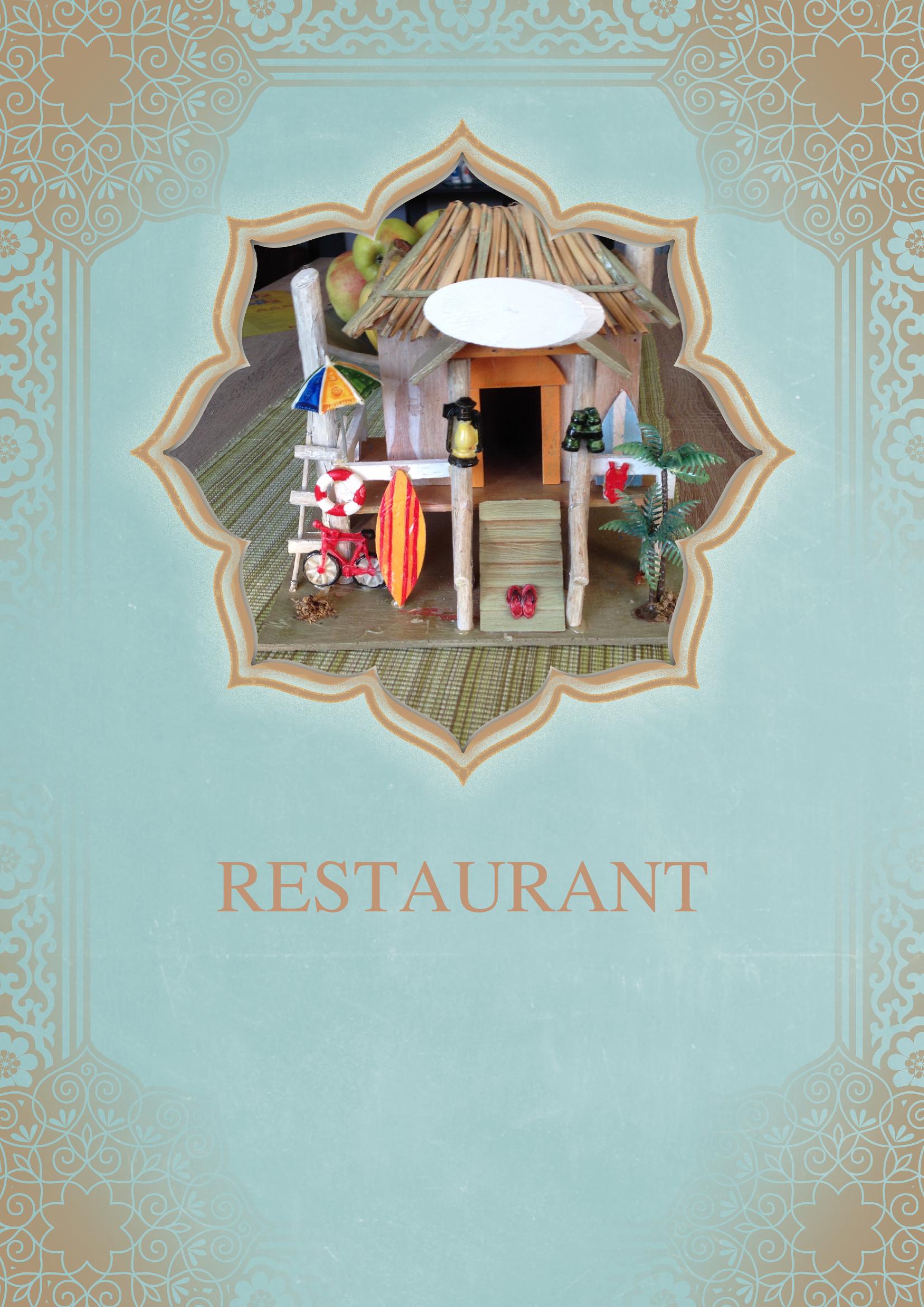 Speisekarten und Menkarten Vorlage Sdlndische Kche