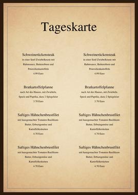 Speisekarten und Menkarten Getrnkekartenvorlage fr
