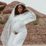 Nigerian VLogger, Ronke Raji, is trending on Twitter because she and her husband are expecting their second child months after they welcomed their first