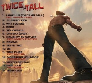 Tracklist Twice As Tall