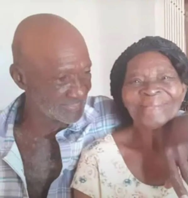 91-year-old woman marries a 73-year-old man