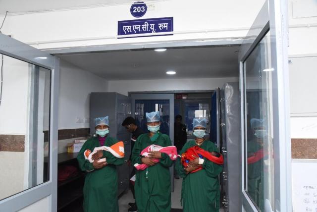 रायपुर : बीमार शिशुओं के उपचार के लिए विशेष शिशु देखभाल केन्द्र बना संजीवनी : अब तक 690 शिशुओं को हो चुका है बेहतर उपचार
