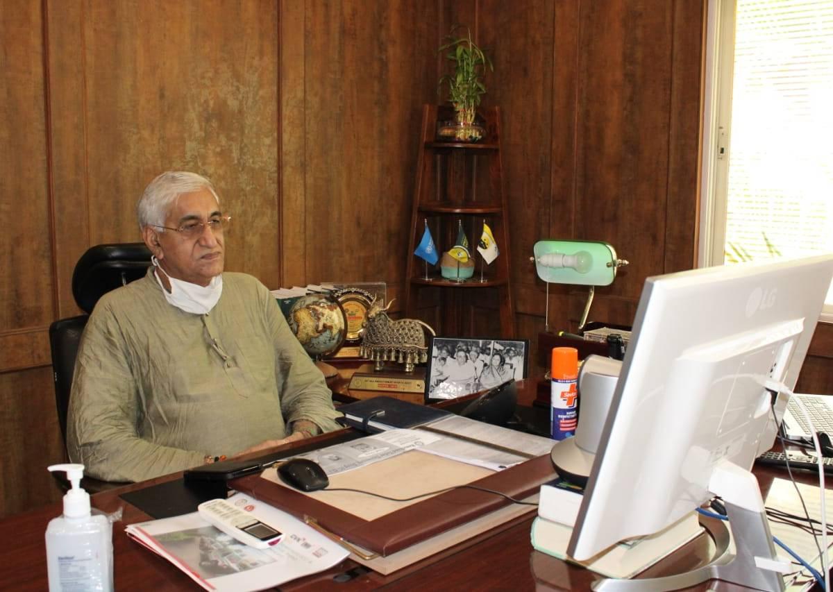दुर्ग के 7 दिवसीय MeetTheDoctor के उद्घाटन कार्यक्रम में वर्चुअल माध्यम से शामिल हुए टी. एस. सिंहदेव