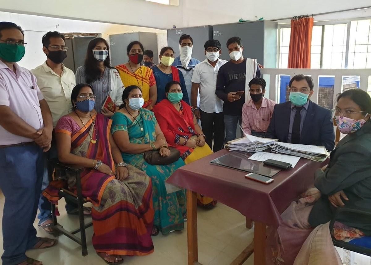 मुंगेली : राष्ट्रीय लोक अदालत में 215 प्रकरण निराकृत