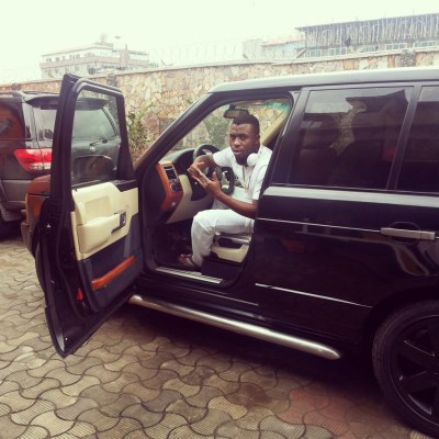 Samklef range rover 1024x1024 EXCLUSIVE PHOTOS OF ALL NIGERIAN CELEBRITIES WHO ACQUIRED NEW CARS IN 2013