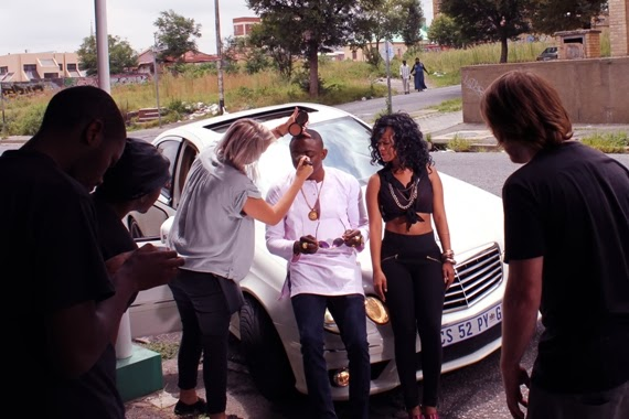 Sean Tizzle BTS Photos 2