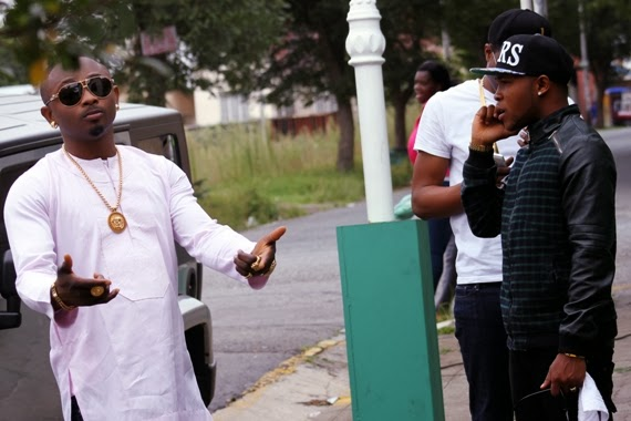 Sean Tizzle BTS Photos 8