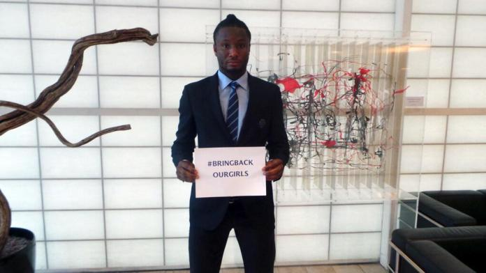 Mikel Bring Back Our Girls