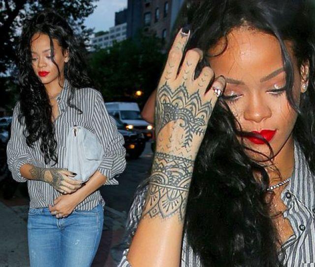 Victoria Kimani Flaunts New Tattoo On Her Hand Just Like Rihannas Who Rocked It Better Photos