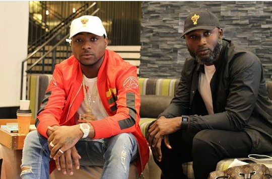 Image result for davido and manager