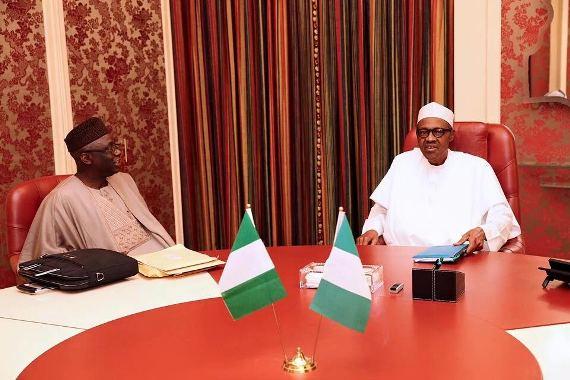 President Buhari Hosts Pastor Tunde Bakare (Photos)