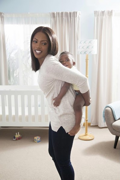 Tiwa Savage Photographed 'Backing' Her Son Jamil In Cute New Photo