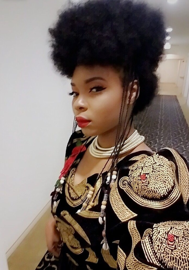 Yemi Alade Shows Off Her Afro Hairstyle In Adorable New Photos  36NG
