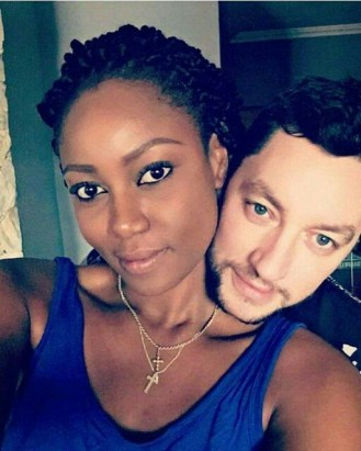 Yvonne Nelson and boyfriend