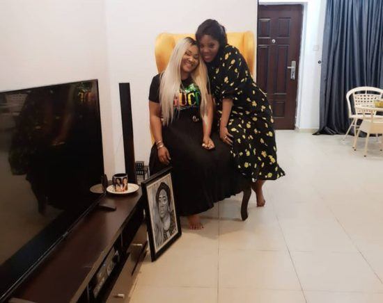 See What Happened When Mercy Aigbe and Toyin Abraham Met at Bobrisky's Party