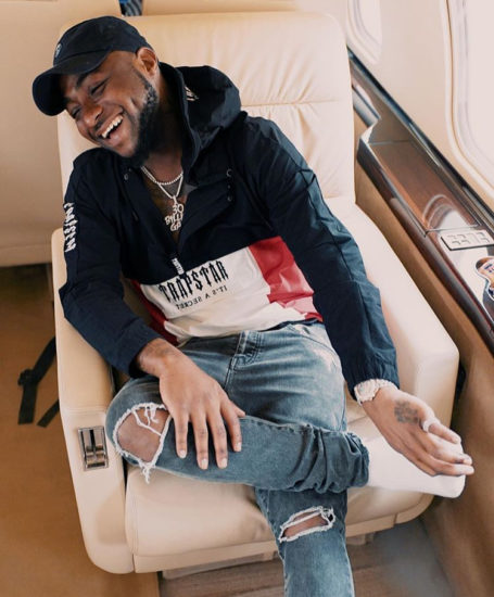 What Davido Is Saying About Buhari's Suspension of CJN Walter Onnoghen