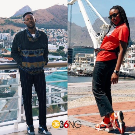 Adekunle Gold and Simi Are In Cape Town For Honeymoon