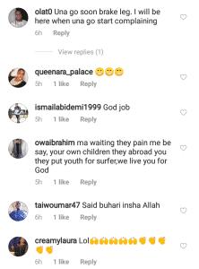 Fans Lay Curses On Saidi Balogun After Celebrating Buhari's Win