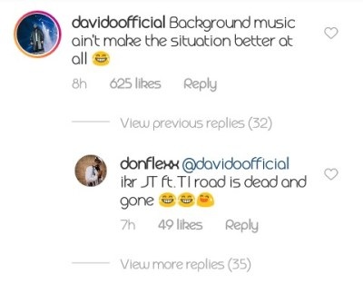 Davido's Reaction To Viral Footage Of Lady That Walked Out On Her Boyfriend After Proposal