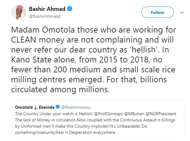 """Presidency Says Omotola Jalade Is Not Working For """"Clean Money""""; She Responds"""