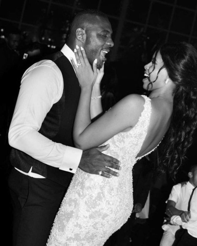 A baby boy! Idris Elba and Sabrina Dhowre welcome their first child together 1