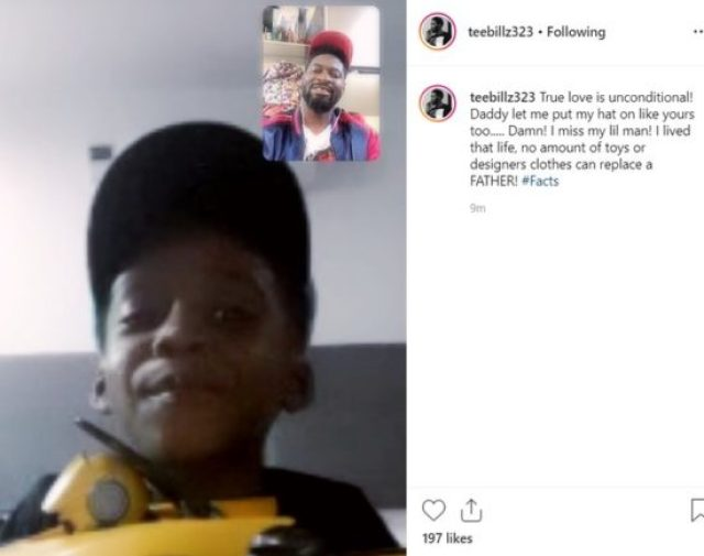 Teebillz Shades Tiwa Savage With His Children's Day Message To Their Son