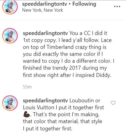 81199C61 1CD3 4539 9C00 BB0439EBA259 - Speed Darlington calls out Olamide for 'stealing' his fashion style
