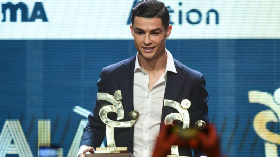 Cristiano Ronaldo named Italian Seria A player of the year