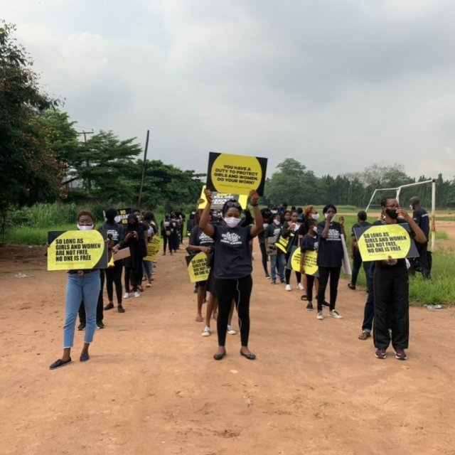 Protesters March Against Sexual & Gender-Based Violence in Lagos & Abuja 3