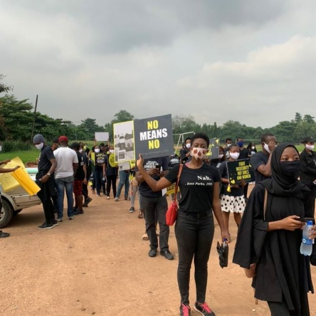 Protesters March Against Sexual & Gender-Based Violence in Lagos & Abuja 1