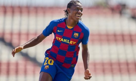 Asisat Oshoala nominated for UEFA Fans' Women's Team of the Year 1