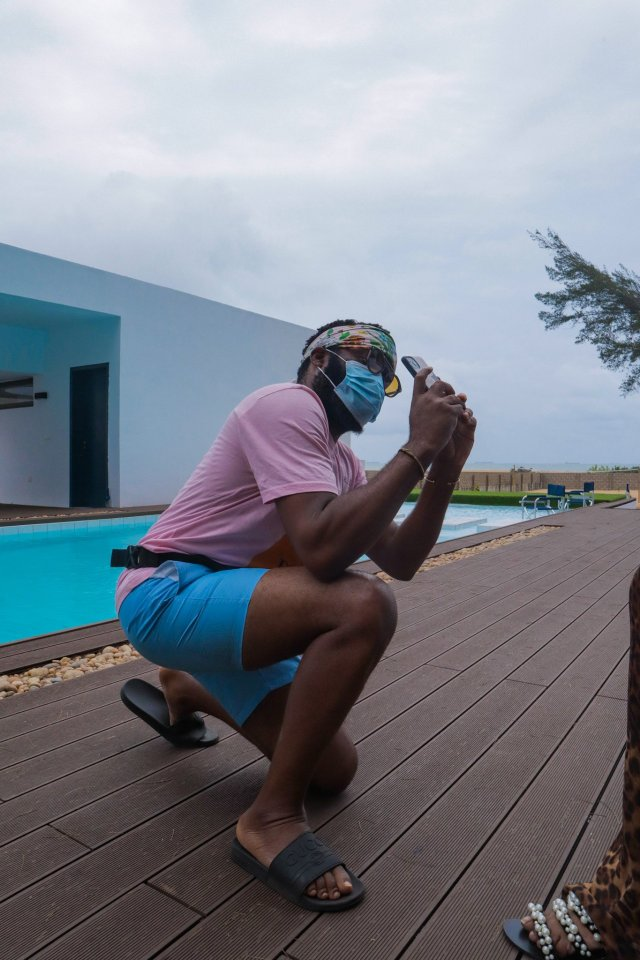 Check Out Photos of your Faves at Waje's 40th Birthday Beach Bash 30