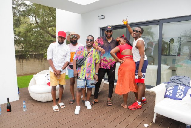 Check Out Photos of your Faves at Waje's 40th Birthday Beach Bash 10