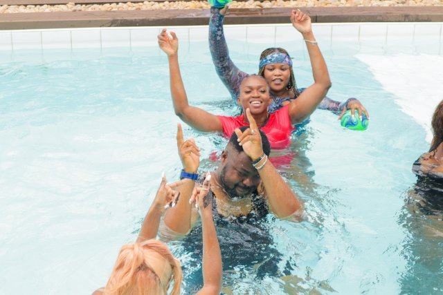 Check Out Photos of your Faves at Waje's 40th Birthday Beach Bash 8
