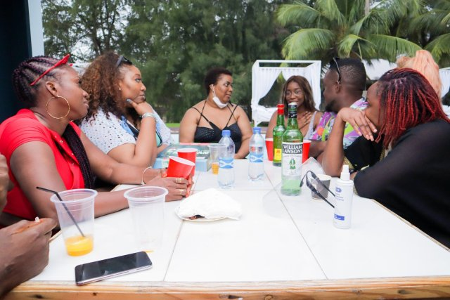 Check Out Photos of your Faves at Waje's 40th Birthday Beach Bash 2