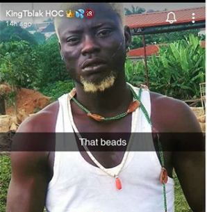 Kingtblakhoc reportedly arrested for using Ifa worshippers' item to shoot an adult movie 1