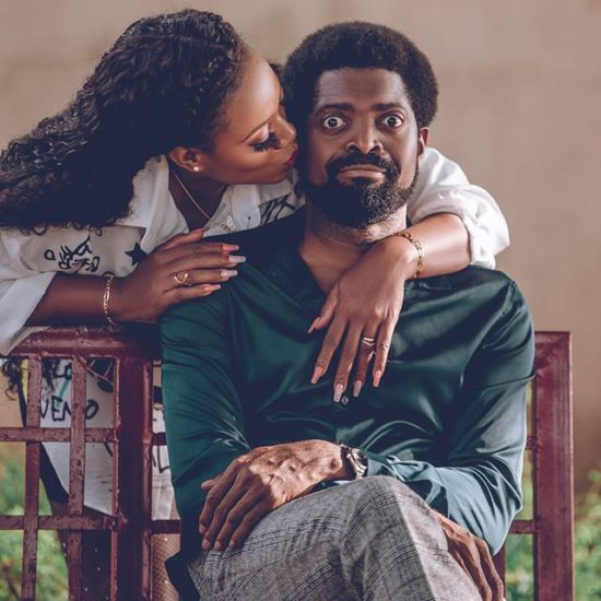 BasketMouth and wife celebrate 10 years of marriage 1