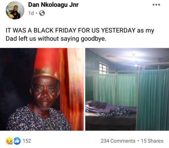 Veteran Actor, Dan Nkoloagu Is Dead 2