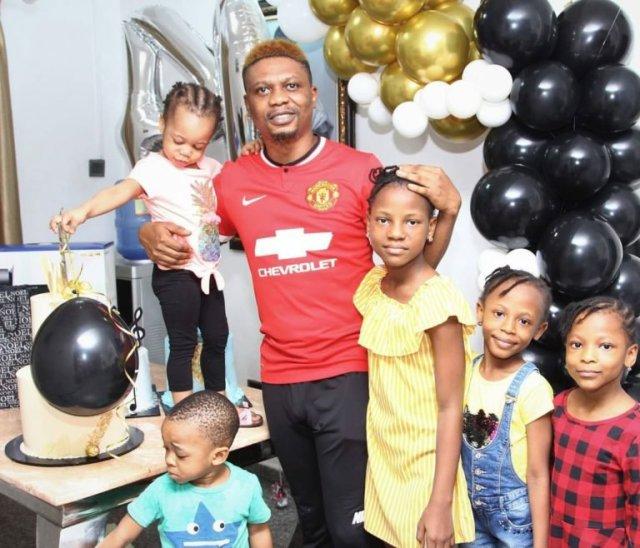 Family, Cakes & PS5 – Reminisce had the Best Birthday Celebration (Photos) 2