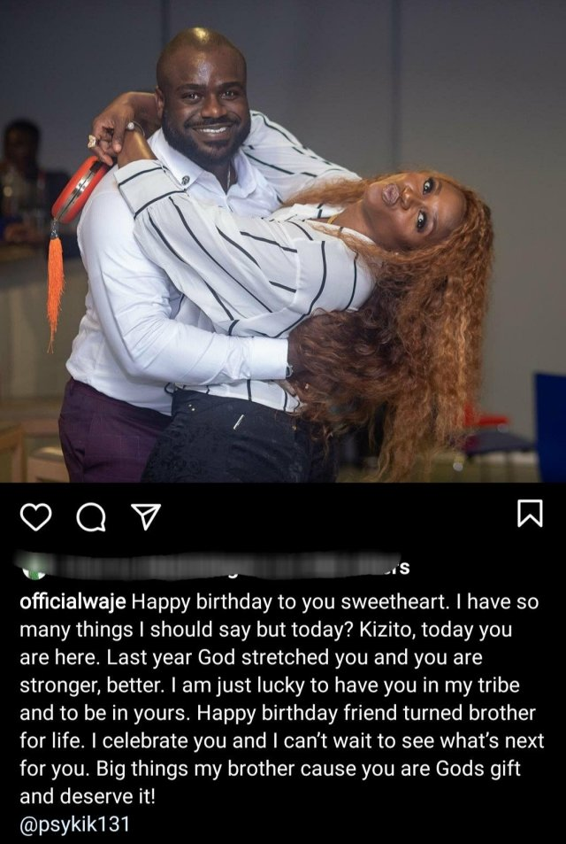Waje addresses fan who asked her to 'stay one place' and stop posting photos of 'men' 2
