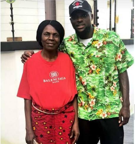 Super Eagles star, John Ogu looses Mum; Mourns her on Twitter 2