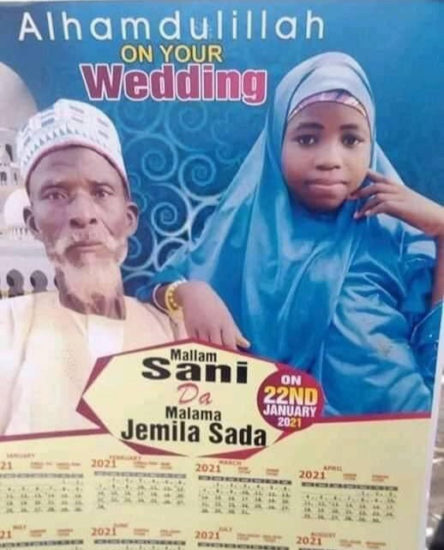 Elderly Man Weds Little Girl In Northern Nigeria (Photo) 1