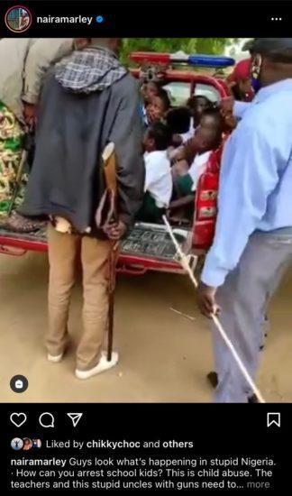 'Child Abuse' – Naira Marley condemns arrest of school kids by Amotekun 2