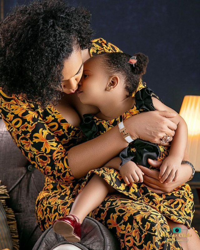 These Photos of TBoss Twinning with Her Daughter Starr Will Make You Smile 6