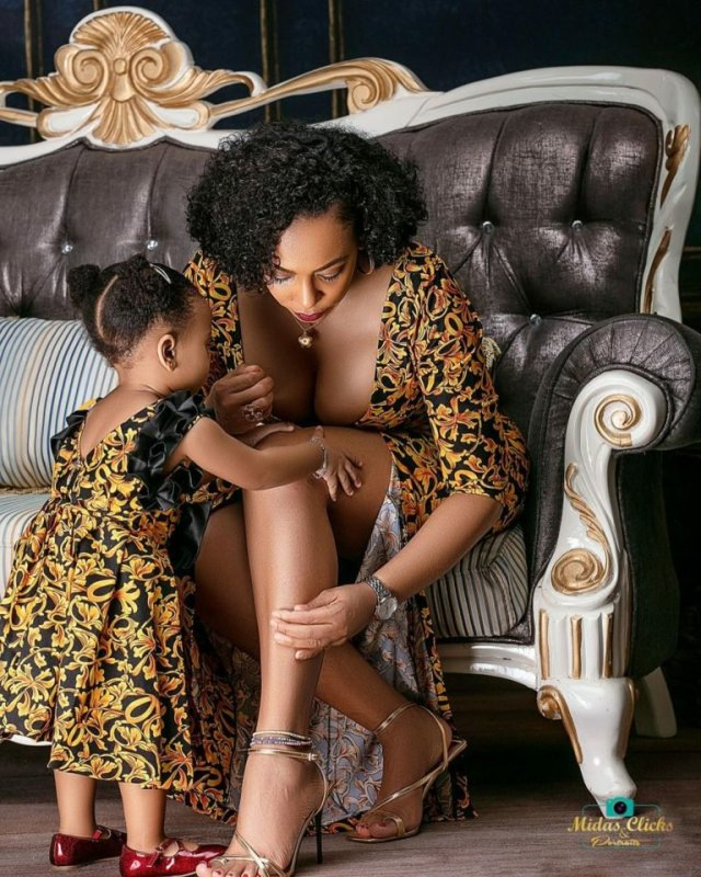 These Photos of TBoss Twinning with Her Daughter Starr Will Make You Smile 5