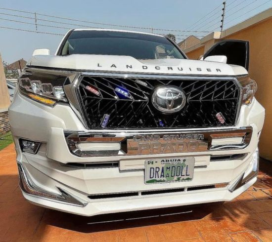 Destiny Etiko denies reports reacts that a married Billionaire bought her Land Cruiser 2